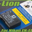 i-Lion EN-EL14 1200 mAh 7.4V Battery Japan Cells For Nikon D 5200 5100 3200 3100