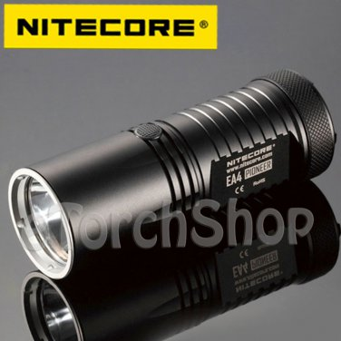 Nitecore EA4 Cree U2 LED 860LM Flashlight AA Searchlight