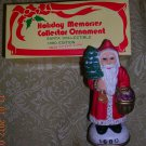 Holiday Memories Collector Santa Ornament 1880 Edition, Price Includes S&H