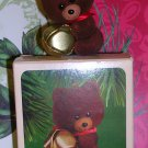 Jingling Teddy Ornament Hallmark 1982, Price Includes S&H