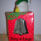 Ring-A-Lings Collector Bells Christmas Ornament, Price Includes S&H