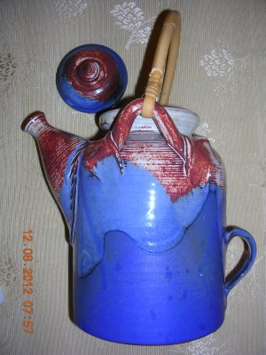 Teapot Handmade, Price Includes S&H