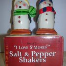 "Salt and Pepper Shakers ""I Love S'Mores""  Price Includes S&H"
