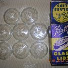 8 Ball Glass Lids with Box, Price Includes S&H