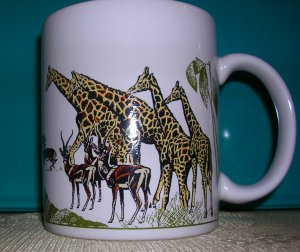 Hallmark Coffee Mug--African Theme, Price Includes S&H