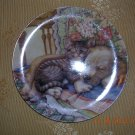Cuddle Up Plate from the Crestley Collection, Price Includes S&H