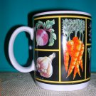 Veggie/Black Coffee Mug by Shannon Sargent, Price Includes S&H