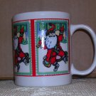 Noel Santa Coffee Mug, Price Includes S&H