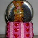 Valentine Bear Snowglobe, Price Includes S&H