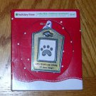 """Cats leave paw prints on your heart"" by Holiday Time, Price Includes S&H"