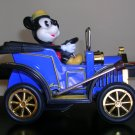 1981 Masudaya Japan Lever Action Rolling Mickey Mouse Tin Car, Price Includes S&H