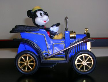 1981 Masudaya JapanLever Action RollingMickey Mouse Tin Car, Price Includes S&H