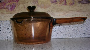 Corning Visions Glass Cookware - 1 Liter Sauce Pan, Price Includes S&H