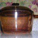 Visions Ceramic Glass Cookware 2.5 Liter Sauce Pan