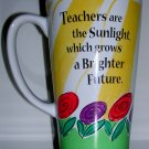Teachers Are the Sunlight Mug, Price Includes S&H