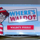 "Wendy's Where's Waldo 2-Sided Puzzle, ""The Enormous Party""  Price Includes S&H"