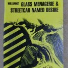 Williams' Glass Menagerie & Streetcar Named Desire (Cliffs Notes), Price Includes S&H