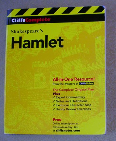 Shakespeare's Hamlet (Cliffs Notes), Price Includes S&H