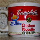 1997 Campbell's Chicken Noodle Soup Mug by West Wood, Price Includes S&H