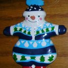 Snowman Christmas Ornament by Dept. 56, Price Includes S&H