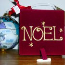 Inside Painted Glass Christmas Ornament, Price Includes S&H