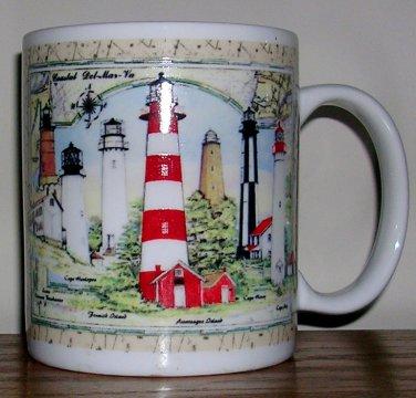 Lighthouses Mug, Price Includes S&H