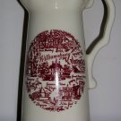 Vintage Souvenir Williamsburg Pitcher, Price Includes S&H