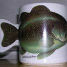 Largemouth Bass Fish Shaped Coffee Mug Salamander 1990, Price Includes S&H