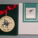 Barlow Ornament of Fenton Glass 90th Anniversary 1905-1995, Price Includes S&H