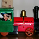 Disneyland Thunder Mountain Railroad Toy Train Engine With Mickey, Price Includes S&H