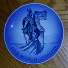Royal Copenhagen Viking Warrior on Bow of Ship Plate, Price Includes S&H