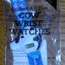Chick-fil-A Cow Wrist Watch Blue, Price Includes S&H