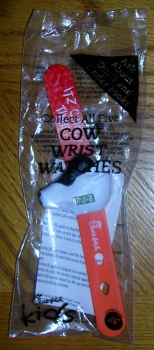 Chick-fil-A Cow Wrist Watch Orange, Price Includes S&H