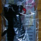McDonald's Ty Teenie Beanie Babies--1998 #10--Zip the Black Cat, Price Includes S&H