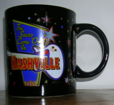 The Stars Come Out in Nashville Mug, Price includes S&H