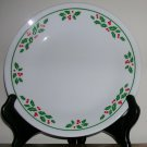 Vintage Corning Corelle Holly Days Pattern Bread Plates--Set of 4, Price Includes S&H