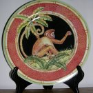 "Jungle Safari 8 3/8"" Salad Plate by Siddhia Hutchinson, Price Includes S&H"