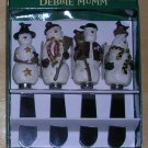 Debbie Mumm Snowman Spreaders, Price Includes S&H