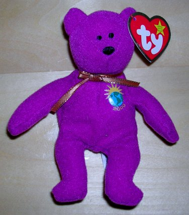 Ty Beanie Baby Millennium the Bear from McDonald's, Price Includes S&H