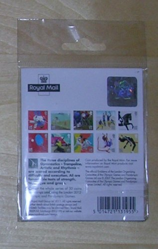 London 2012 Olympic and Paralympic Games Sports Stamp and Coin, Price Includes S&H
