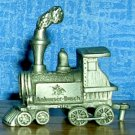 Budweiser Beer Pewter Mini Train Engine by Fort Pewter, Price Includes S&H