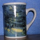 Thomas Kinkade Winter Evening Mug by Design Pac Gifts, Price Includes S&H