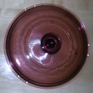 Pyrex Cranberry V2.5C Lid--Very good condition, no chips or cracks, Price Includes S&H