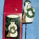 Hallmark Keepsake Ornament Christmas Snowman 1996, Price Includes S&H