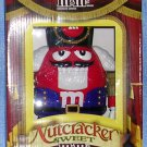 M&M's Limited Edition Red Nutcracker Candy Dispenser--NIB, Price Includes S&H