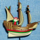 Hallmark Keepsake Ornament Santa Maria, Price Includes S&H