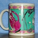 Ladies Golf Gear Mug by Otagiri, Price Includes S&H