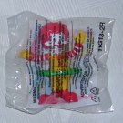 McDonald's 2011 Happy Meal Under Three Toy Ronald McDonald Hula Hooping, Price Includes S&H