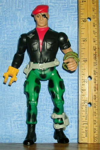 "1986 Gripper 7"" Coleco Action Figure Rambo Forces of Freedom & Savage, Price Includes S&H"