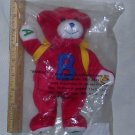 Avon ABC Backpack Buddy Plush Toy Bear 2001, Price Includes S&H